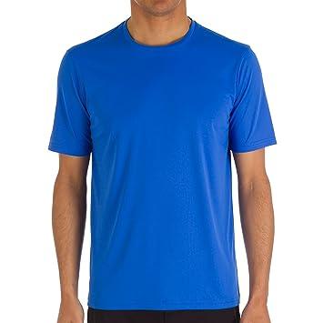 Camiseta Tribord para hombra, UV, camiseta color azul