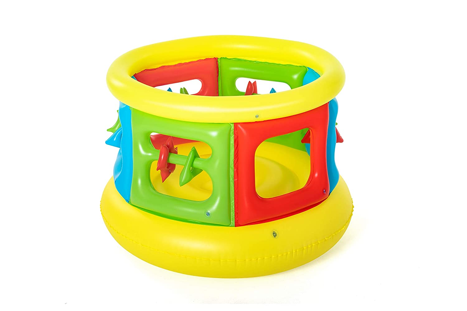 Amazon.com: Up in & over hinchable Jumping Tube Gym: Toys ...