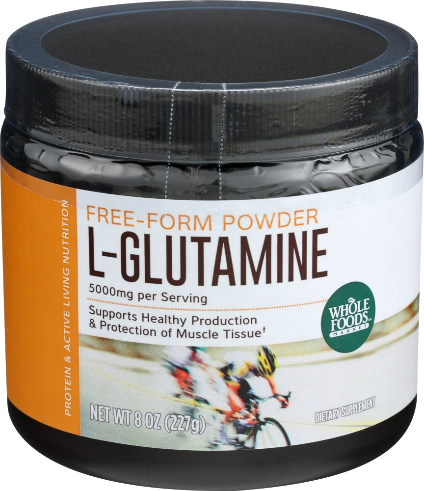 Amazon.com: Whole Foods Market, L-Glutamine Powder, 8 oz: Health & Personal Care