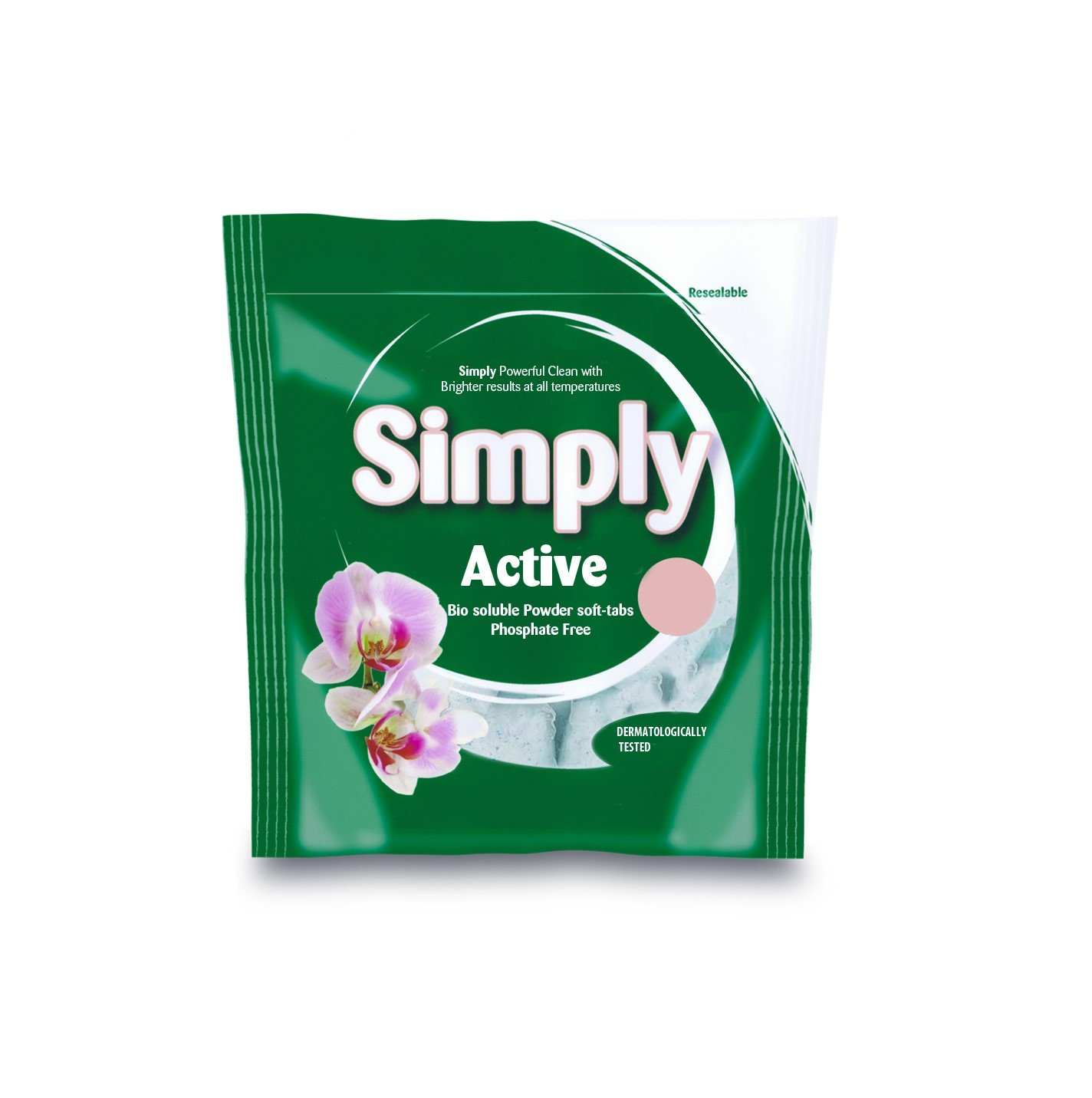 Simply Biological Laundry Powder Pods - Pack of 100 Washes Enpac Ltd SB100
