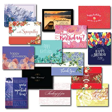 Amazon zillomart all occasion greeting card assortment 5 x 7 zillomart all occasion greeting card assortment 5 x 7 inch box set m4hsunfo