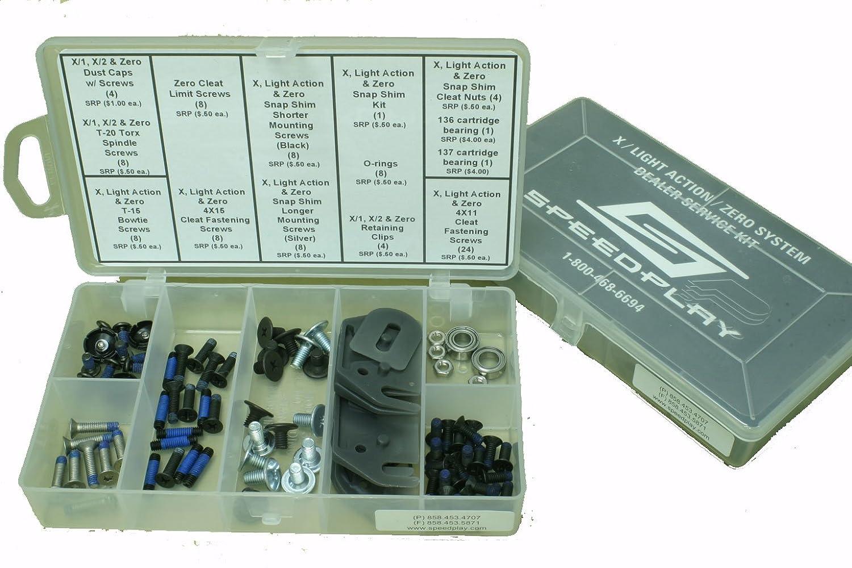Speedplay 13080 X Zero und Licht Action Dealer Service Kit