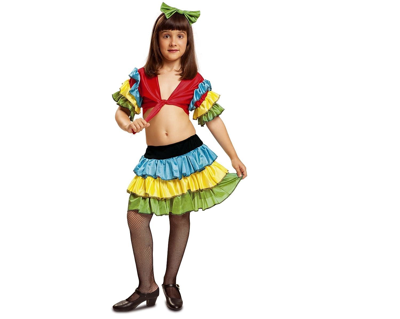 My Other Me - Disfraz de Rumbera, Talla 3-4 años (Viving Costumes ...