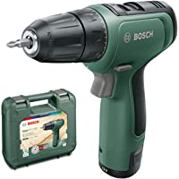 Bosch EasyDrill Accuboormachine EasyDrill 1200 met 1 accu in koffer. groen