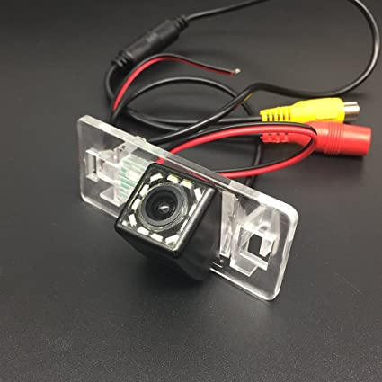 Car HD Rear View Reverse Parking Assistance Camera 170 Degree Night Vision For Audi A3 S3 A4 S4 B6 A6 S6 Q7 A8 S8 RS4 RS6