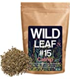 Dried Catnip Leaf by Wild Foods For Tea, Infusions, Cosmetics, Soaps, Shampoos, Cat Attractant, 100% Natural