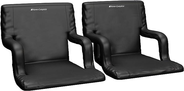Amazon.com: Home-Complete - Silla de asiento de estadio, 2 ...