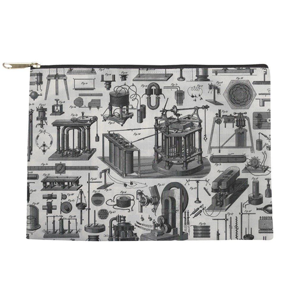 bd96180b2e 30%OFF CafePress - Vintage Physics Plates - Makeup Pouch - shop ...