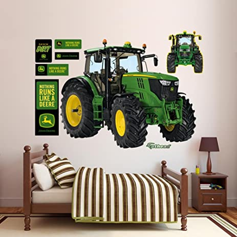 Amazoncom John Deere 6210R Tractor Wall Decal 66 x 52in Home