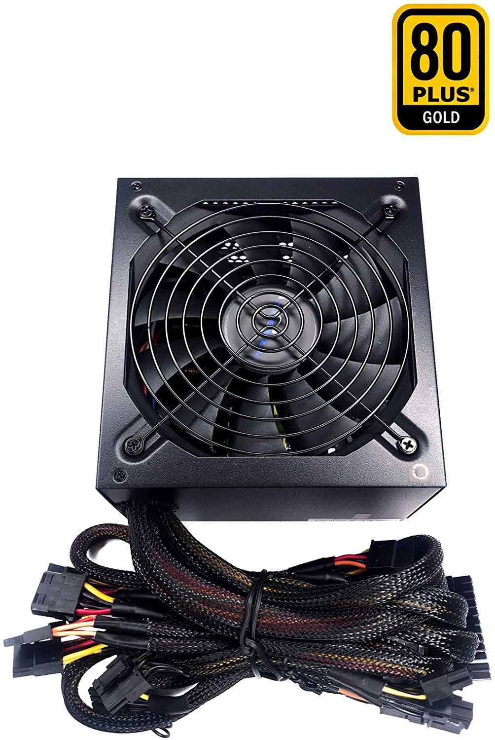 Gold Certified Apevia ATX-PR600W Prestige 600W 80 RoHS Compliance Active PFC ATX Gaming Power Supply