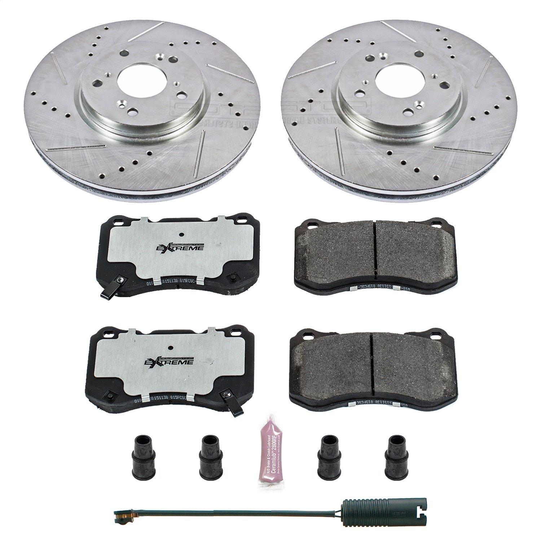 Power Stop K5728-26 1-Click Street Warrior Z26 Brake Kit