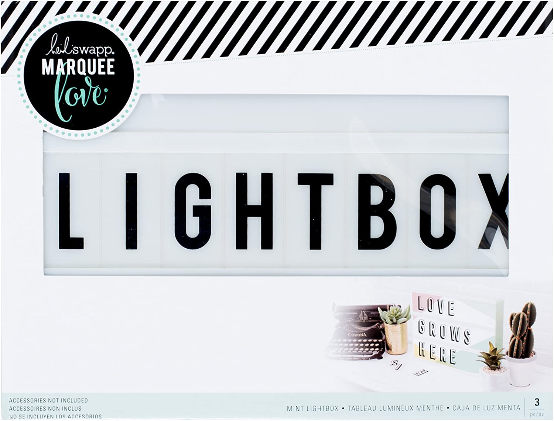 American Crafts 313742 Heidi Swapp Lightbox 12Piece Word Strips Months