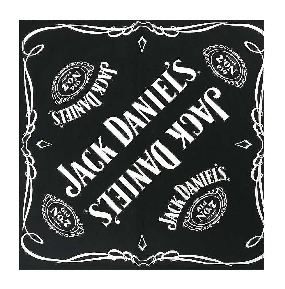 Jack Daniels Men's Headwrap Bandana Headwear 19' Biker Scarf Headband JD77-126