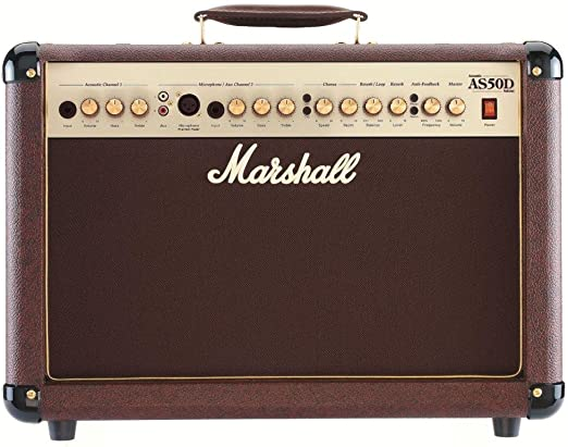 Marshall AS50D - Amplificador guitarra combo 50 w mma: Amazon.es ...