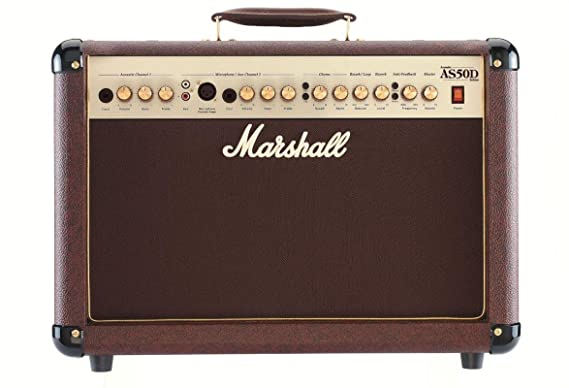 Marshall AS50D - Amplificador guitarra combo 50 w mma: Amazon.es: Instrumentos musicales