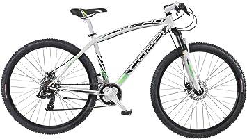 Coppi 29 /29 Pulgadas Mountain Bike MTB Discos de Freno Hardtail apos; Reaction 21 Marchas, Blanco y Verde: Amazon.es: Deportes y aire libre