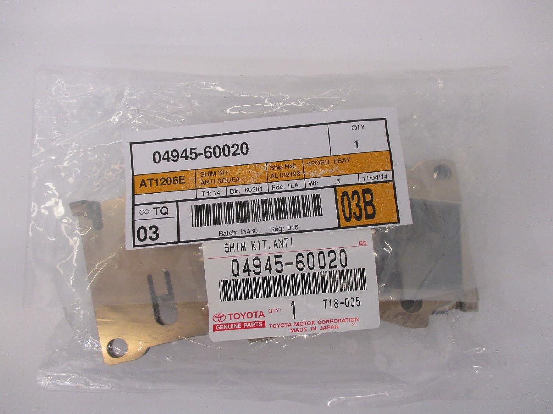 Lexus 04945-60020, Disc Brake Pad Shim