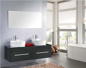 Mobile bagno arredo bagno completo doppio lavabo modello