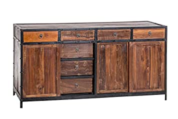 Sideboard Industrial Look ~ Low retro industrial style cabinet currently out of stock
