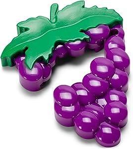 Cork Pops Purple Wine Grapes 4-Blade 3 x 2 Refrigerator Magnet Wine Bottle Foil Cutter