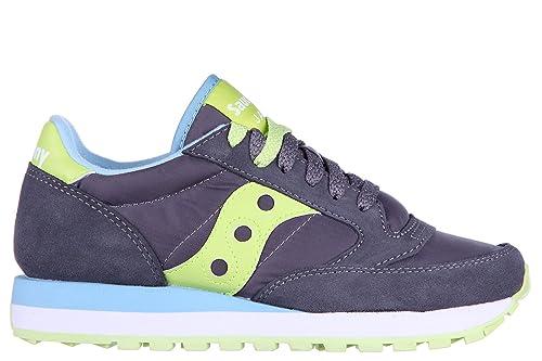 Saucony Zapatos Zapatillas de Deporte Mujer Jazz Original Gris EU 37 S1044 312: Amazon.es: Zapatos y complementos