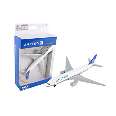 United Airlines 777 airplane toy plane, RT6266: Toys & Games