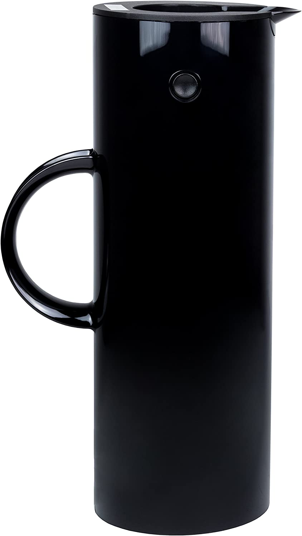 Stelton EM77 Vacuum Jug, 33.8 oz, black