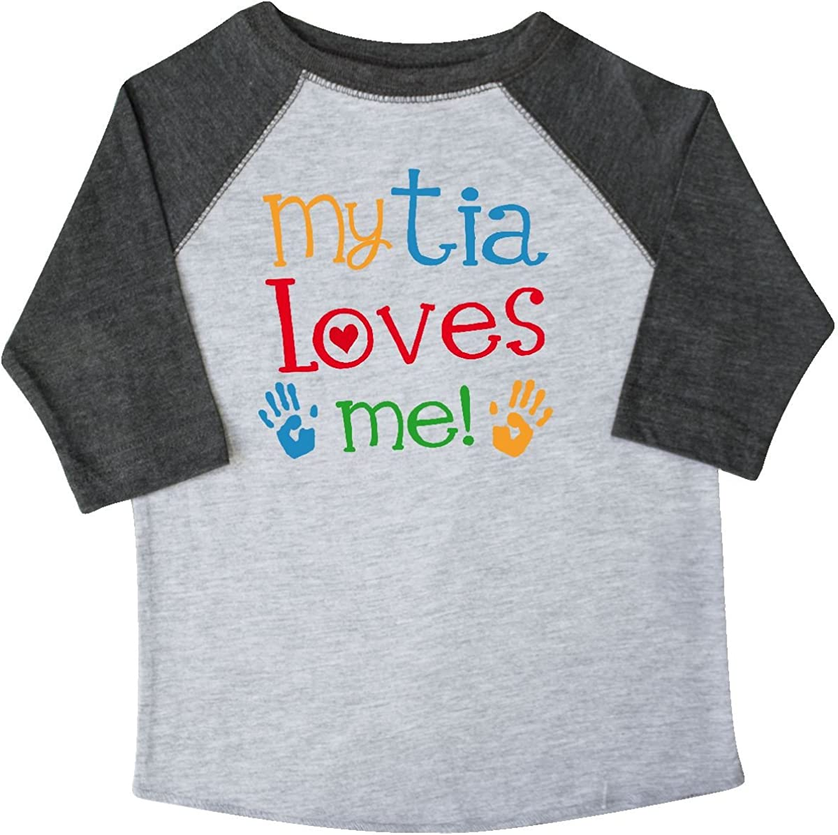 inktastic My Tia Loves Me Gift Toddler T-Shirt