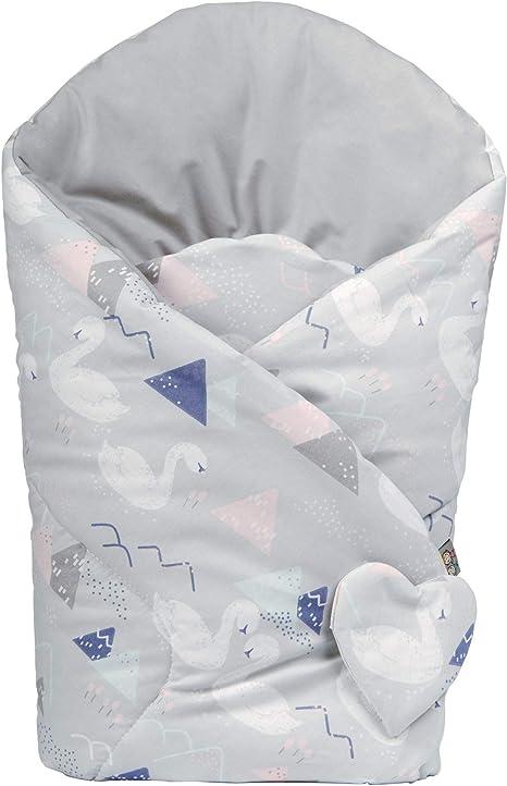 Sevira Kids color cignes Saco de dormir reversible de algod/ón