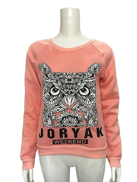COCO clothing Frühjahr Herbst Sweater Damen Freizeit