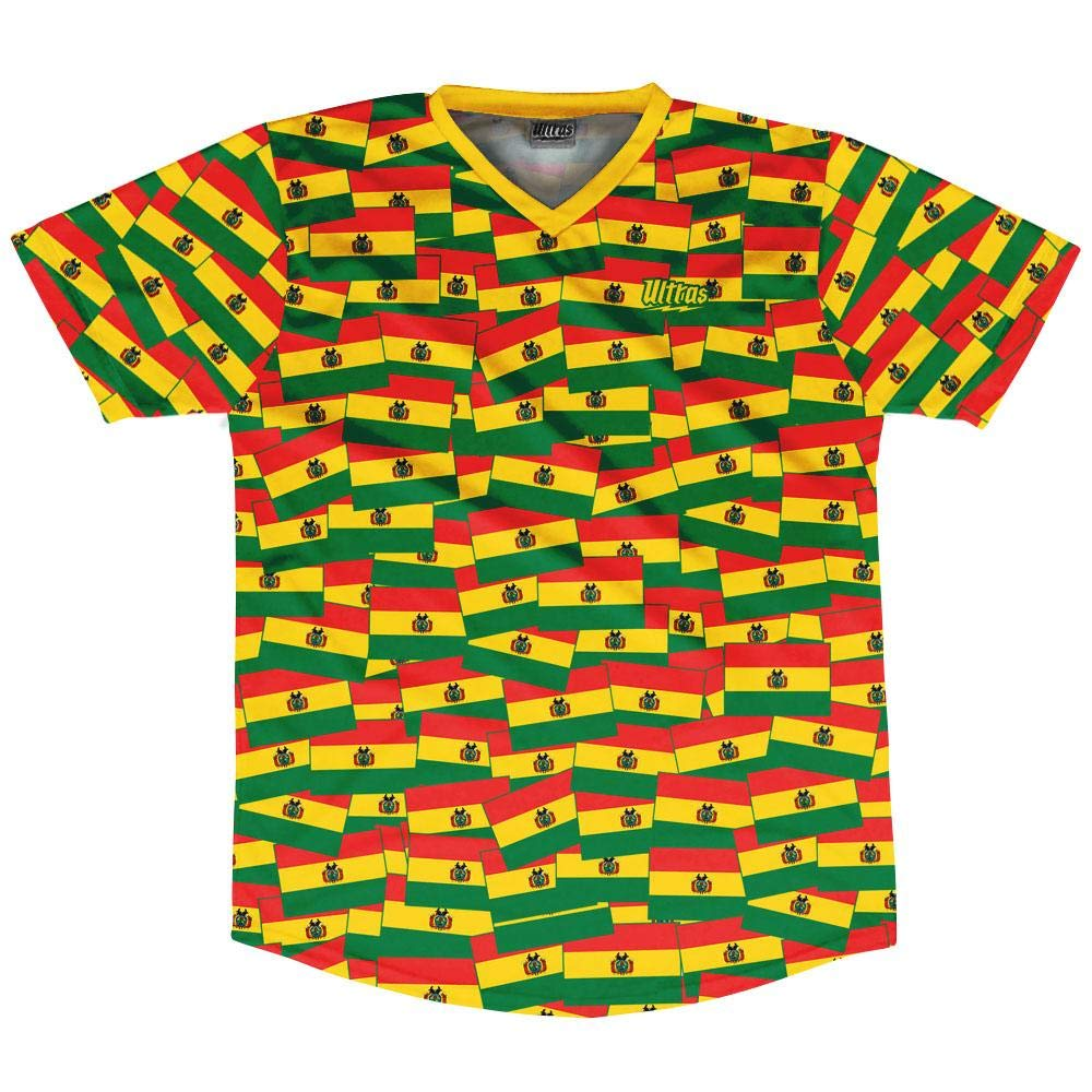 Ultras Bolivia Party Flags Soccer Jersey