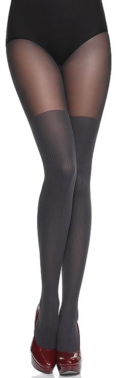 Merry Style Medias Panty con Estampado Lencería Sexy Mujer