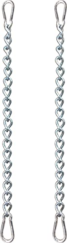 KLIFFH NGER Chain with Two carabiners, Variable Attachment for Hanging Chair 2 Different Designs