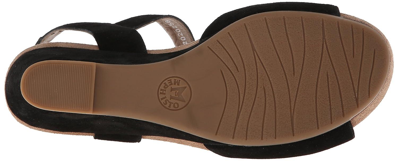 Mephisto Women's Beauty Wedge Sandal B00LEWTDHO 12 B(M) US|Black Velcalf Premium