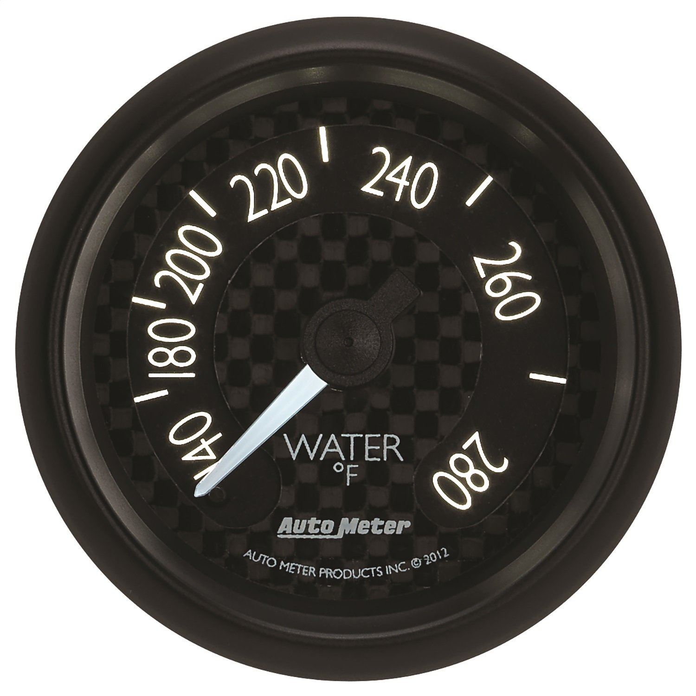 Auto Meter 8031 GT Series Mechanical Water Temperature Gauge
