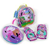 Peppa Pig Set Casque Adatable et Protection - Sac à Dos