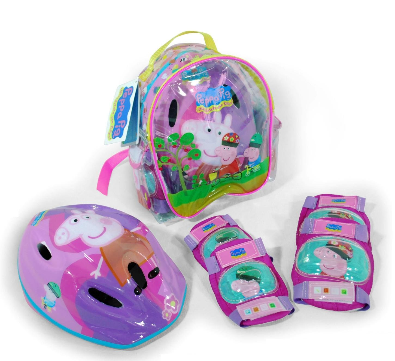 Peppa Pig - Conjunto de Protecciones (Saica Toys 9126)