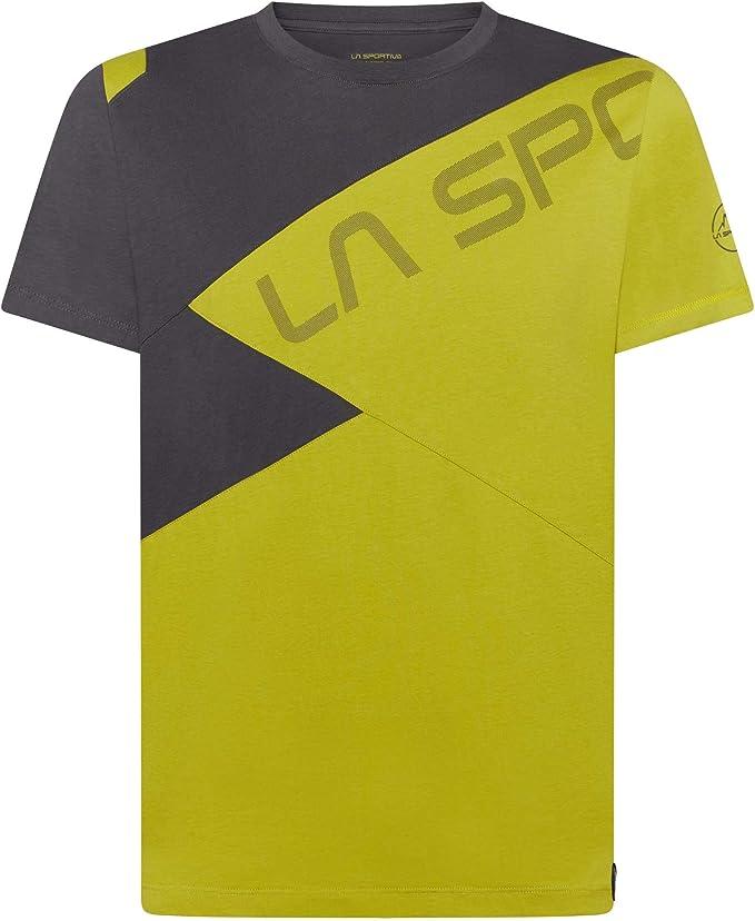 La Sporttiva Float - Camiseta de manga corta (talla M) Kiwi - Carbono XL: Amazon.es: Ropa y accesorios