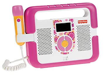 Amazon.com: Fisher-Price Kid-Tough Music Player with Microphone ...