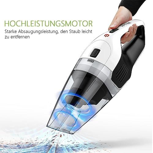 Der Handstaubsauger HoLife im Test
