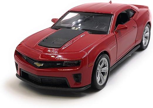 Onlineworld2013 Modellauto Camaro Zl1 Muscle Car Weinrot Auto Maßstab 1 34 39 Lizensiert Auto