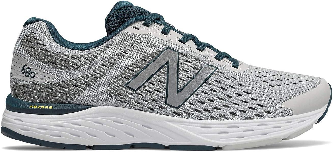 Men's 680v6 Cushioning Running Shoe, Summer FogSupercellGrey, 10.5 4E US