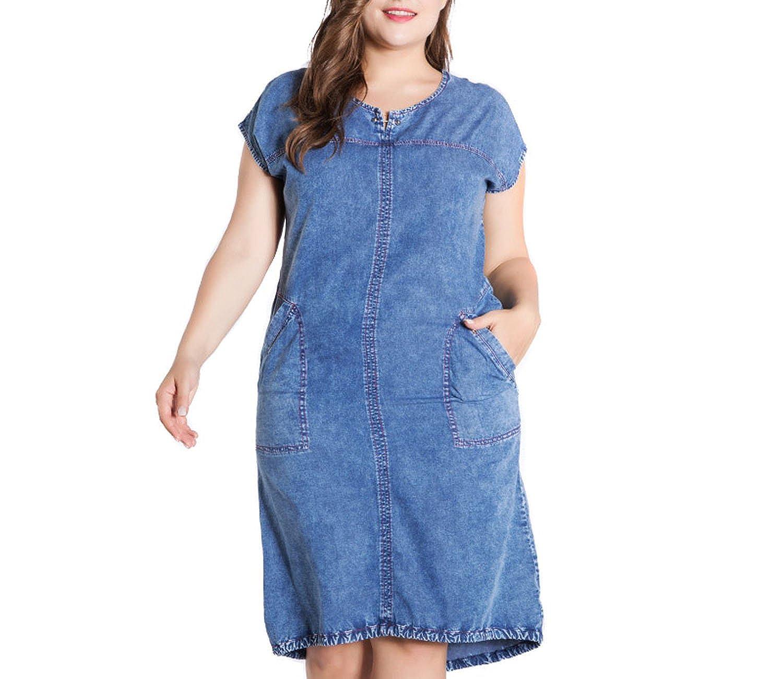 a8c0eef7 Ladies Denim Dress With Pockets
