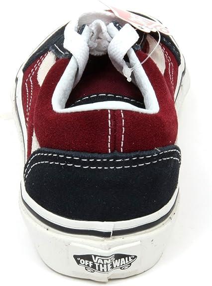 Vans C9238 Sneakers Bimbo Old Skool bluBordeaux Shoe Kid