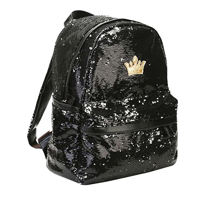 Image Unavailable. Image not available for. Color  Heidi Bag Girl Shining  Sequin Fashion School Backpack ... 61f5965263280