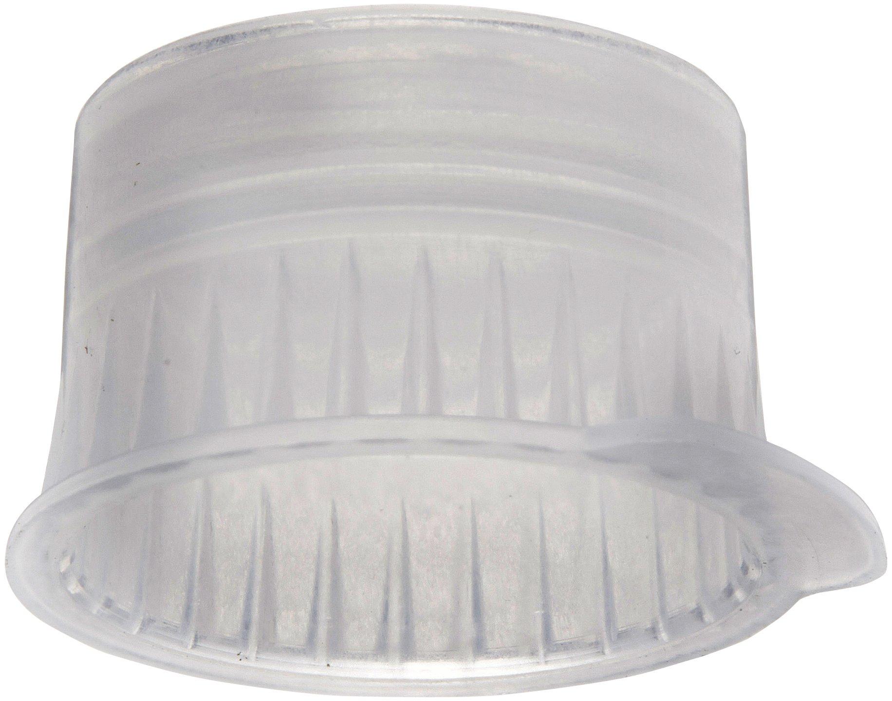 PlatinumCode 88030W 13mm Cap for 13mm Vacuum and 12mm Glass or Plastic Tubes, White (Bag of 1000)