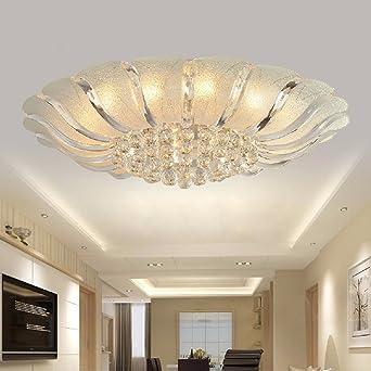 Ooccasion Crystal Led Lampe Wohnzimmer Decke Lampen Rund Um Moderne ...