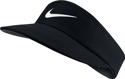 3b68b9038 Amazon.com: Nike Golf AeroBill Tall Golf Visor 832693 Mens (Black ...