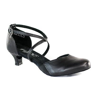 DiMichi Adult Sasha Close-Toe 1.5 Inch Heel Ballroom Shoe | Pumps