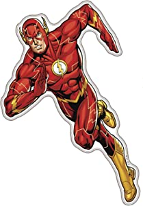 Fan Emblems The Flash Character Car Decal Domed/Multicolor/Clear, DC Comics Justice League Automotive Emblem Sticker Applies Easily to Cars, Trucks, Motorcycles, Laptops, Windows, Almost Anything